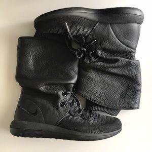 Nike Roshe Two Hi Flyknit Trainers - Sneaker Boot